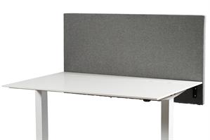 SVKM Bordsskärm, grå, 1200x700, inkl. fästen