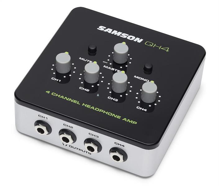Samson QH4   4-channel stereo headphone amplifier