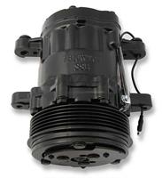 AC SD7 SANDEN COMPRESSOR, R-134A BLACK
