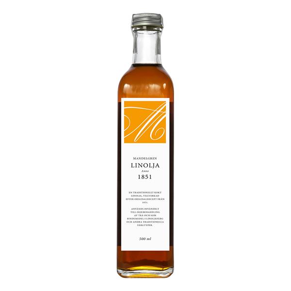 Linolja Anno 1851; 500 ml