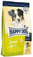 Happy Dog Junior Lamm & Ris. Fr 6 mån. 4 kg.