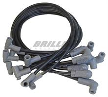Wire Set, Black, SB Chevy w/L.P. Dist.