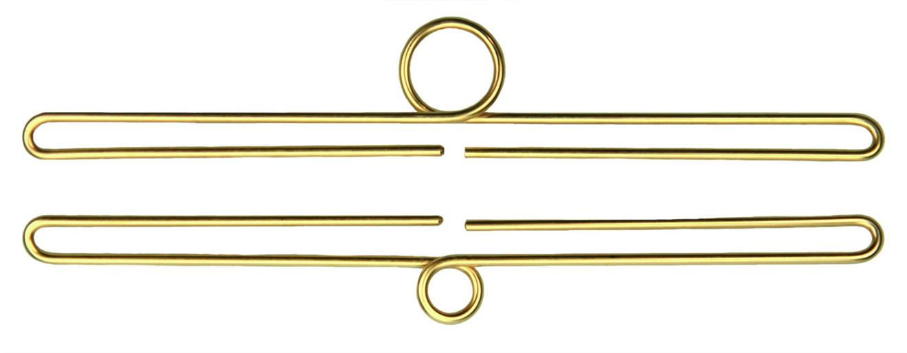 Trådbeslag Guld 5 cm - 22 cm