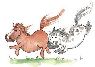 Små hästar - lösnot