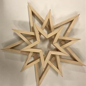 5 armet stjerner sett á 3 stk.