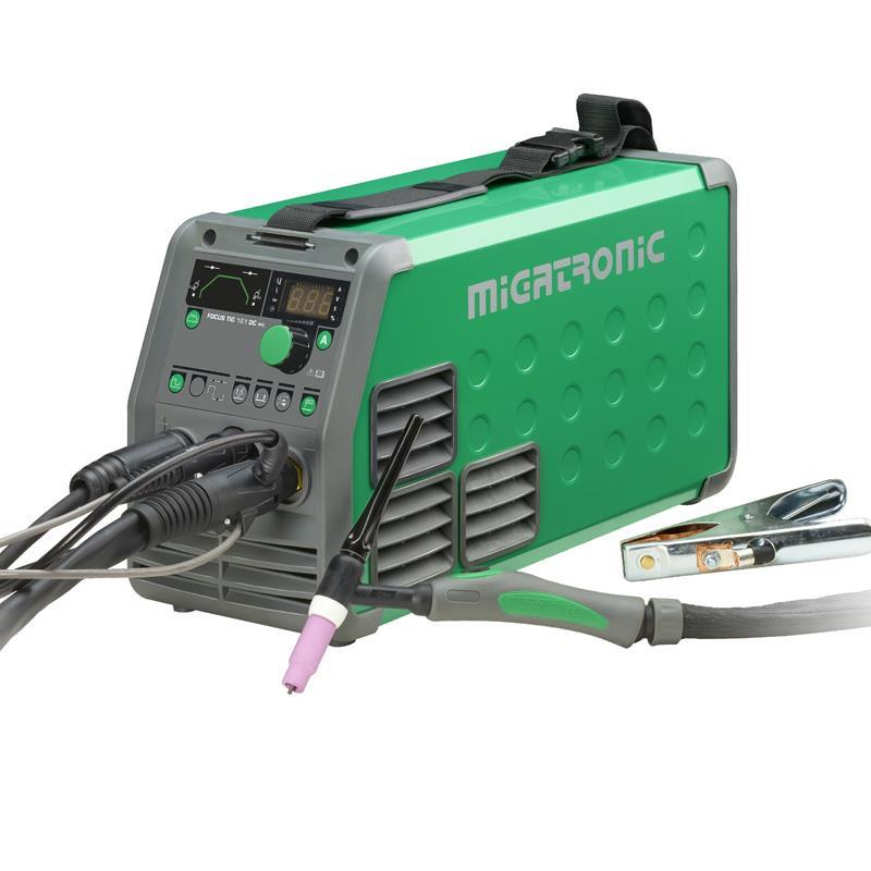 Migatronic Focus 161 TIG DC hp pfc