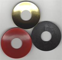 Metallmansjett sort smijern, 6cm