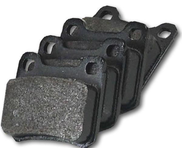 Bremseklosser bak sett W124 sedan 230E, 200, 260,