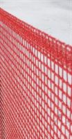 TEX-FENCE SNABBNÄT 0,6 x 5 m 3 käppar Röd