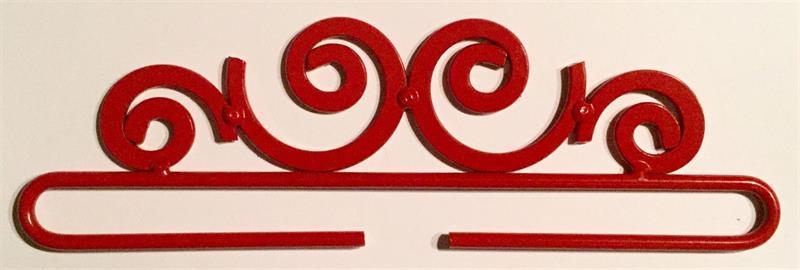 beslag/hängare rött 18 cm