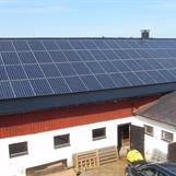 Solceller på Grävelsta