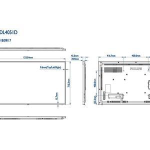 Philips D-Line 55BDL4051D