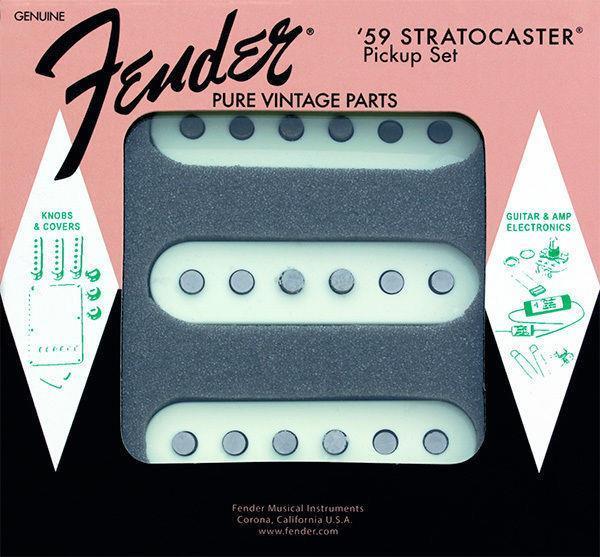 Fender PURE VINTAGE '59 STRAT® PICKUP SET
