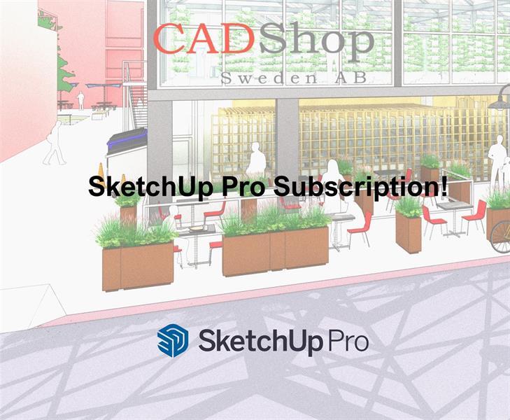 SketchUp Startpaket 1 år