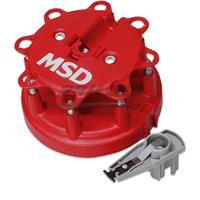 Dist. Cap/Rtr Kit, MSD/Ford V8 TFI,85-95