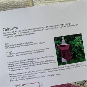 """Origami"" stickbeskrivning"