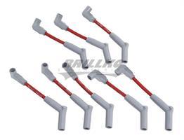 6.2L LS 45DEG SPARK PLUG WIRE SET RED/BL