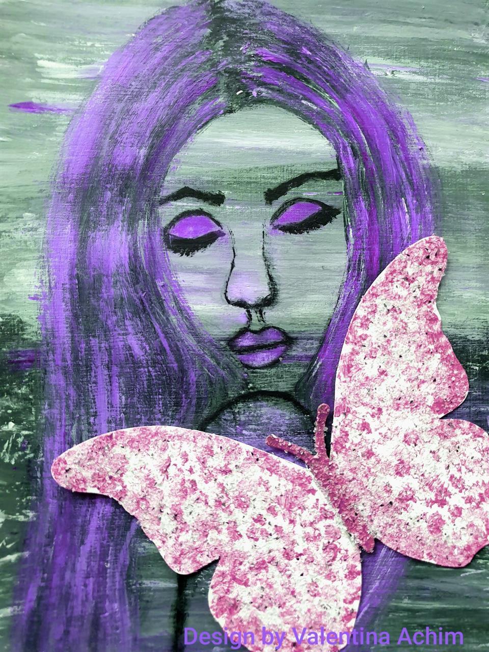 Fotoposters  30x40 cm, lila