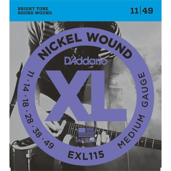 D'Adario EXL 115 el.gitar strenger