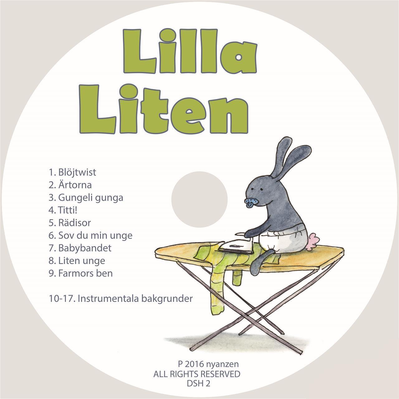 Lilla Liten CD/Digital musik