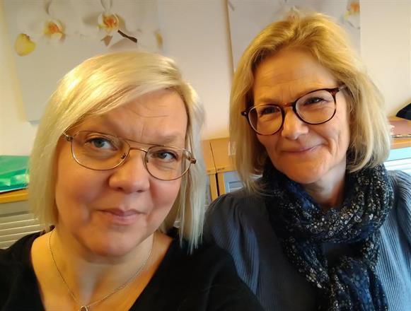 Marie och Anette - som startade byrån 1997 och driver den sedan dess