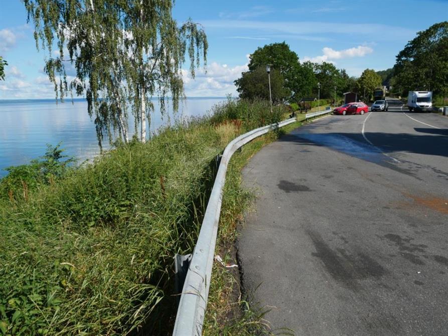Rastplatsen Vista Kulle norr om Jönköping som ska byggas om.