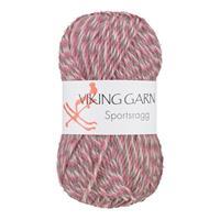 Viking Sportsragg rosa grå