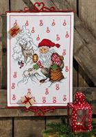 Julkalender Tomten matar djuren