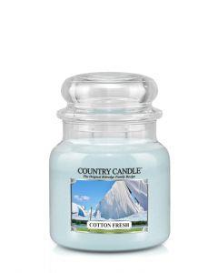 Country candle lite glass - Cotton fresh