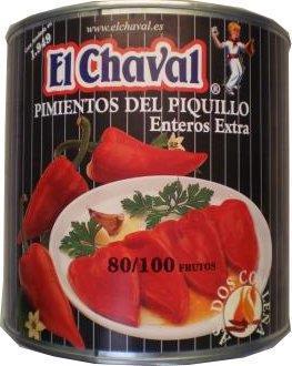 Paprika Piq. El Chaval 2500gr
