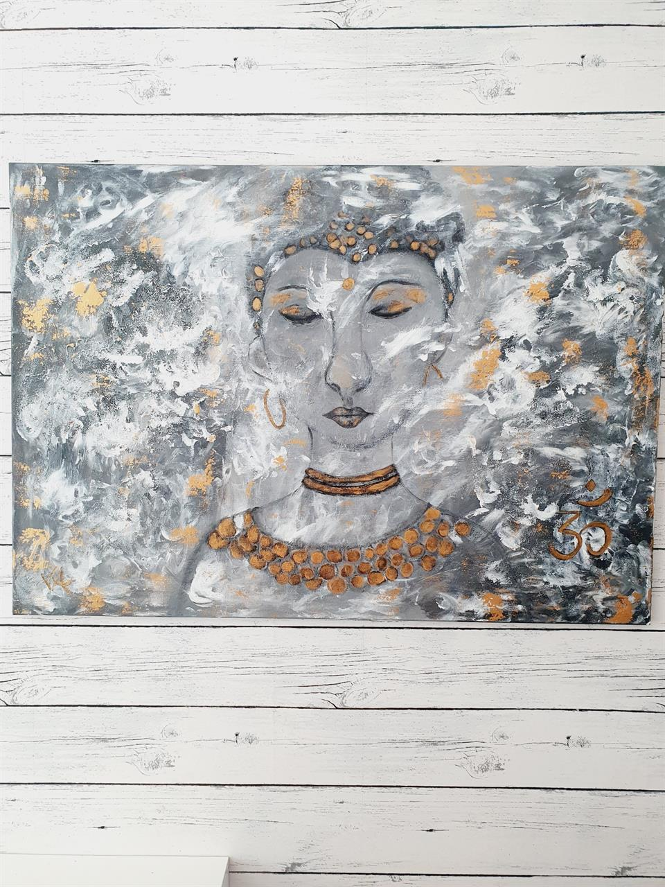 Buddha /deep breath /tavla
