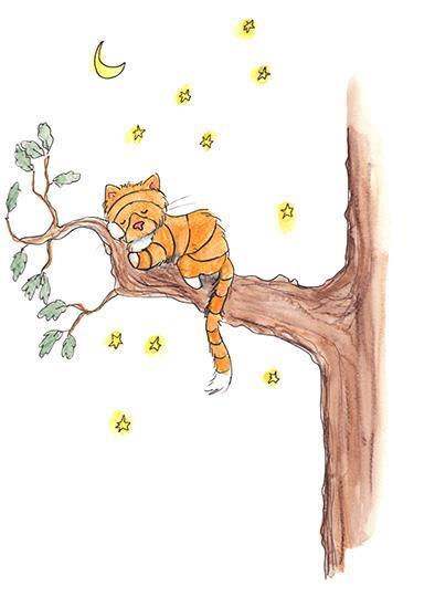 På en gungande gren - lösnot