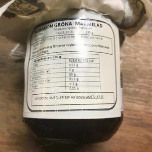 Raúl V Plommonmarmelad 235 gr