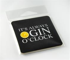 Magneter, Gin o'clock, svart/vit-gul