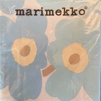 Marimekko unikko lunsj 20stk, light blue