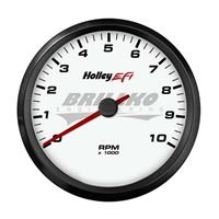 3-3/8 TACHOMETER, 0-10K RPM, CAN, WHITE