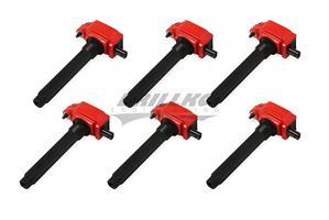 Coils, Red, Chrysler V6 '11-'16, 6-Pack