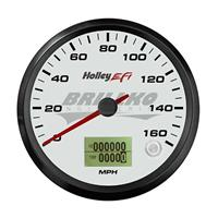 3-3/8 SPEEDOMETER, 0-160 MPH, CAN, WHITE