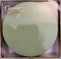 Caspari glassbrikke 8stk, Canvas moss