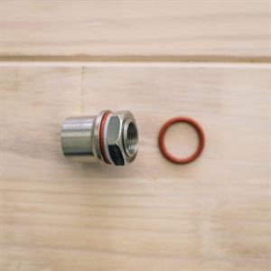 Whirlpool-kit med gjennomføring