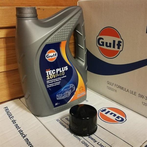 Gulf Tec Plus 10W-40 m/ filter