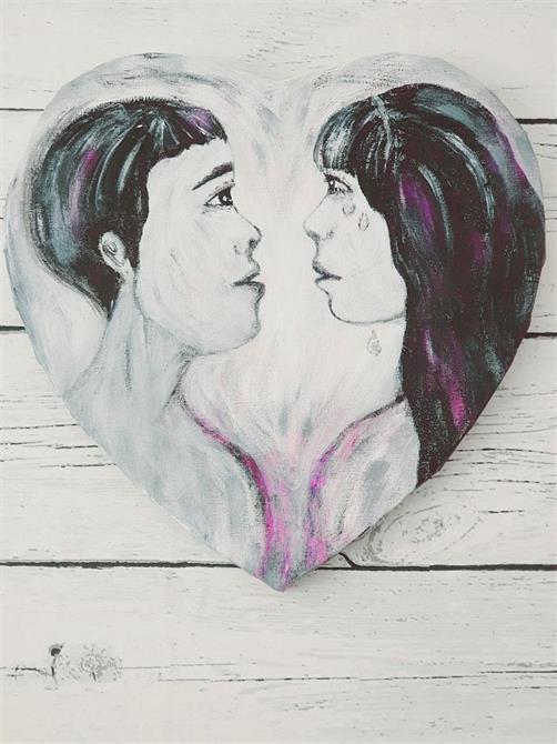 Tavla-Love 30*30 cm