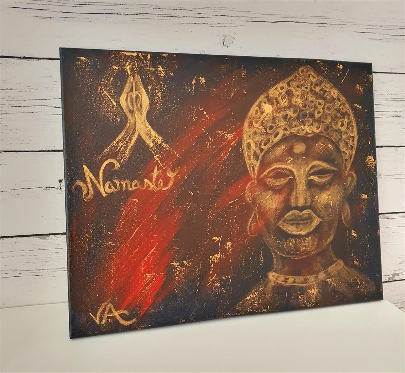 Tavla Buddha -Namaste
