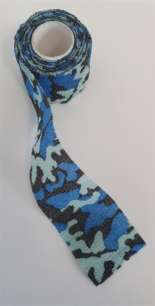 Kamouflage tejp blå