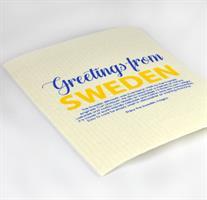 Disktrasa, Greetings from Sweden, vit/blå-gul text