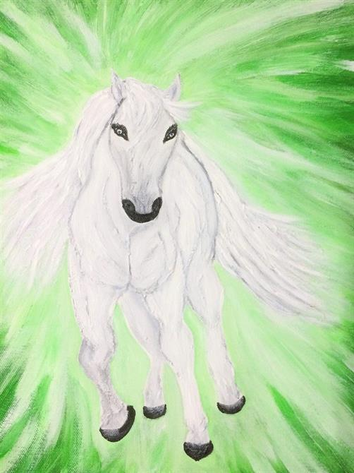 Tavlor djur-Häst 35*27 cm