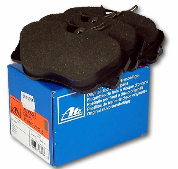 Bremseklosser fram sett ATE W&S124 230E, 200, 260,