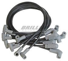 Wire Set, Black, BB Chevy, L.P. Dist.