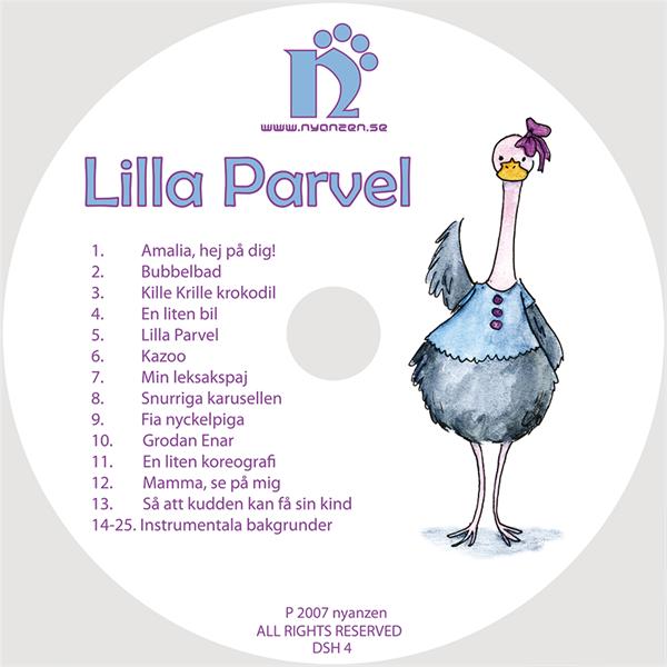 Lilla Parvel CD/Digital musik