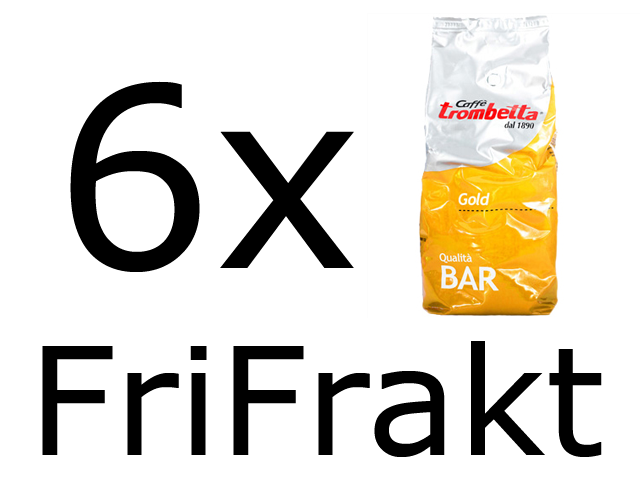 Caffé Trombetta Gold 6x1kg